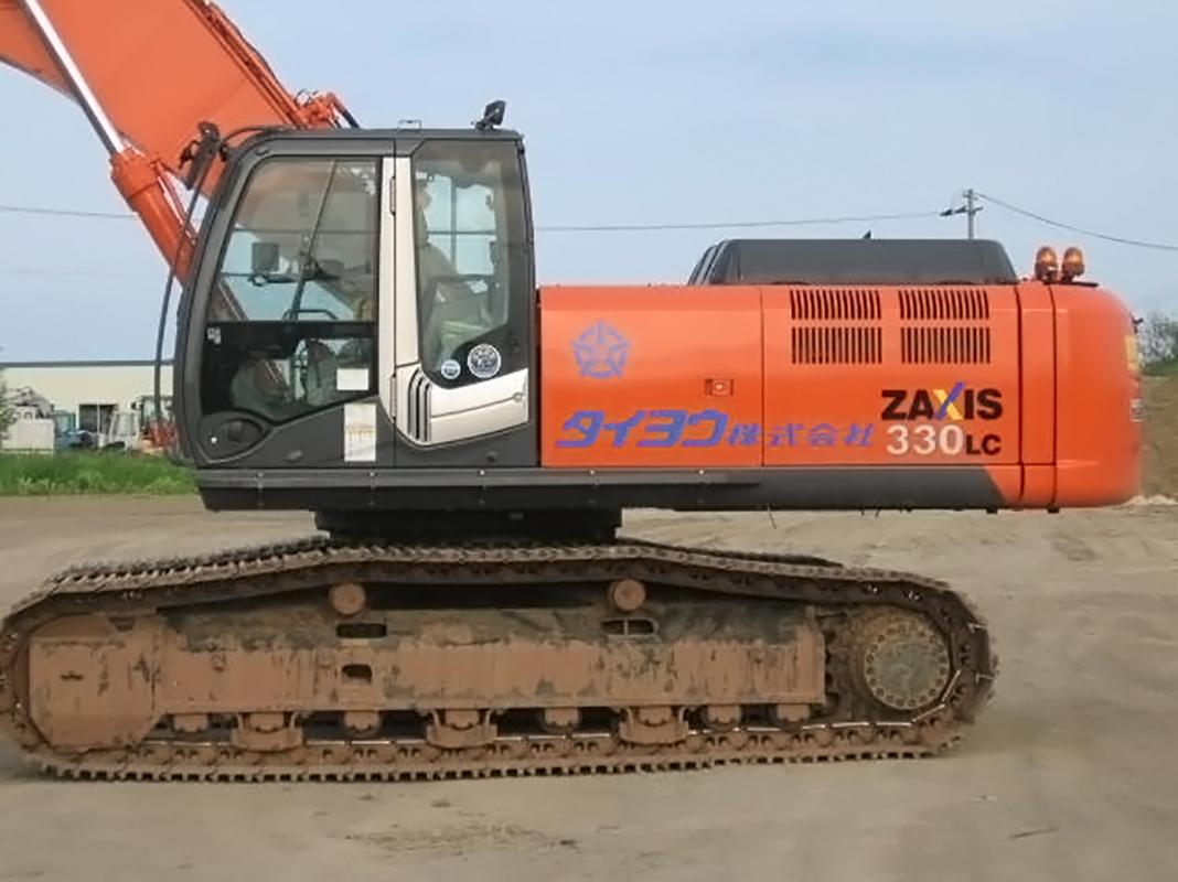日立ZX330LC(1.4㎥) 2台