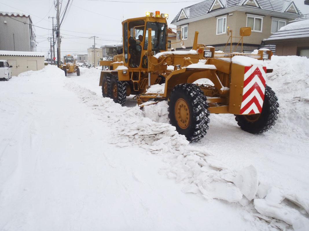 道路維持除雪業務