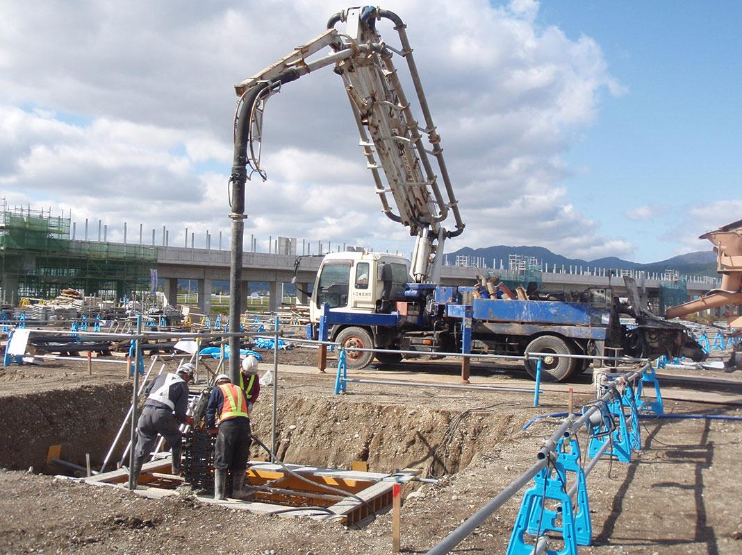 北海道新幹線函館総合車両基地土木・建築関連工事