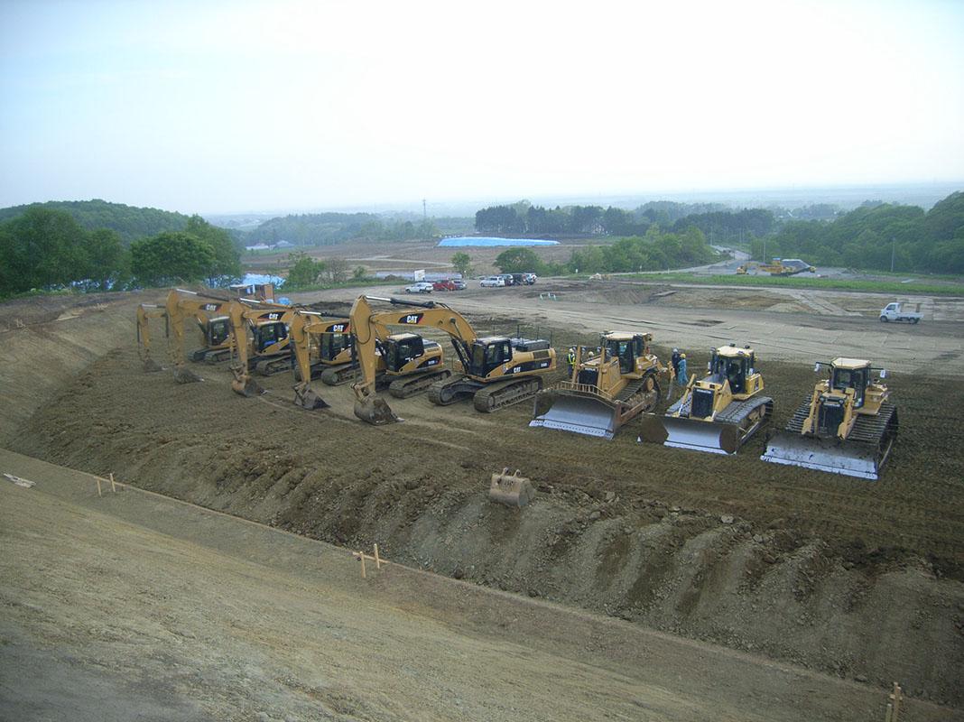 道央用水(三期)農業水利事業道央注水馬追調整工建設工事 2012年