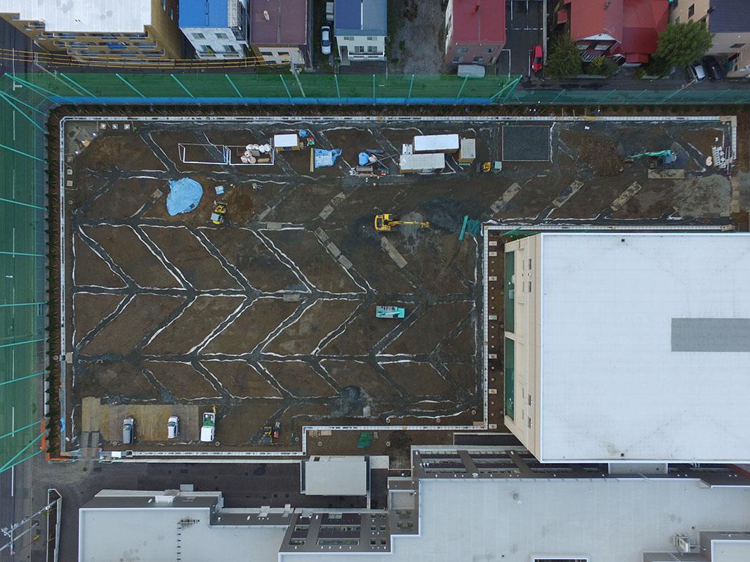 中島中学校校地整備工事