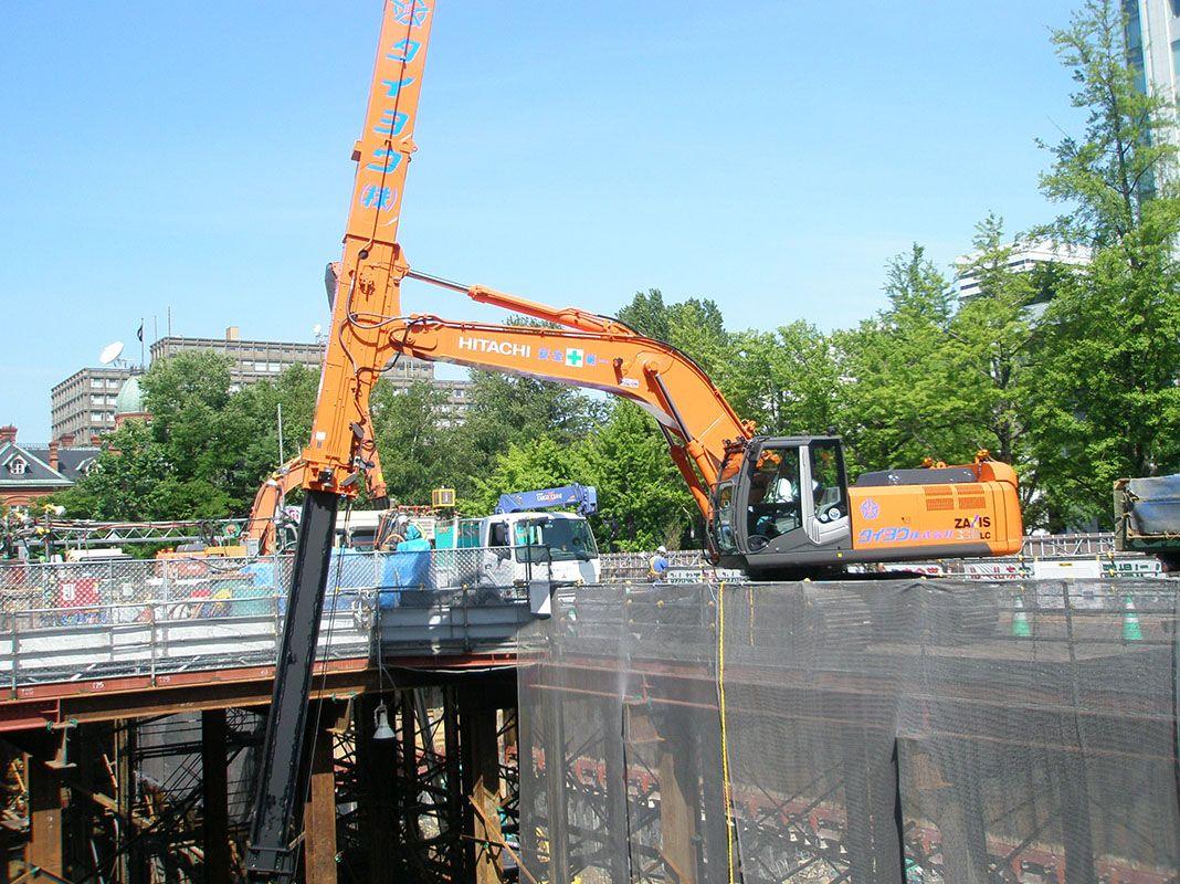 札幌三井JPビル新築工事 2012年