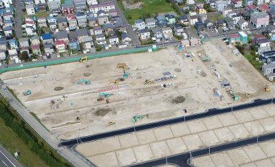 江別市野幌若葉町 宅地造成工事 2018年